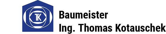 Baumeister Ing. Thomas Kotauschek - Logo