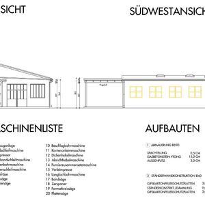 Betriebs-Anlagengenehmigung Tischlerei
