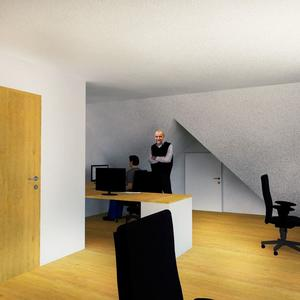 Dachgeschossausbau Büro Traiskirchen
