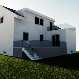 Entwurfsstudie Dachgeschossausbau Möllersdorf